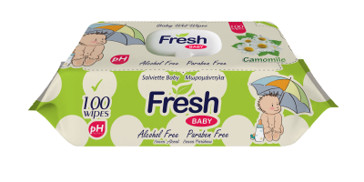 FRESH BABY 100PCS CAMOMILE